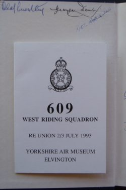 The STORY of 609 SQUADRON
