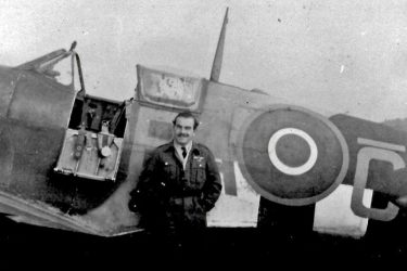 Squadron Leader 'Wally' Wallens DFC